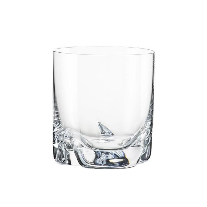 coffret de 4 verres a whisky en cristal