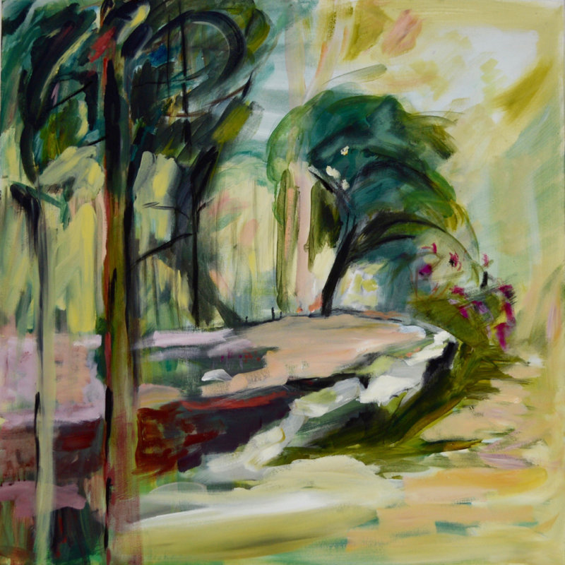 Lesley Finlayson No2-2018, landscape, contemporary art, painting, Vancouver, Elissa Cristall Gallery