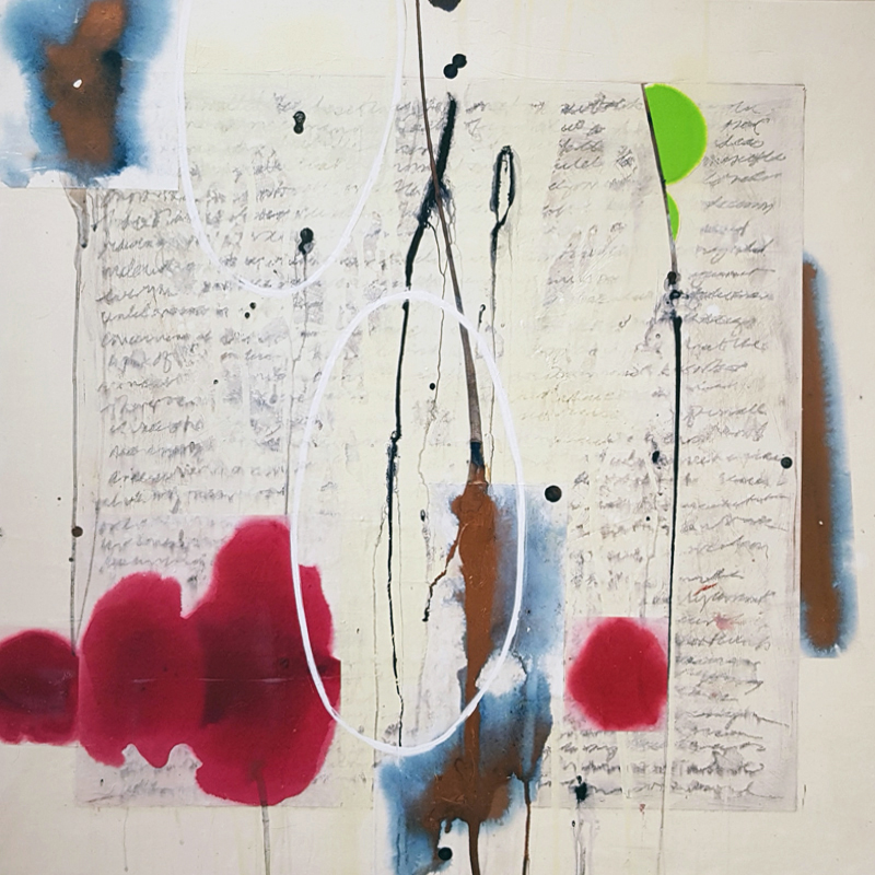 Camrose Ducote, abstract painting, contemporary art, art gallery, modern art, Vancouver, Elissa Cristall Gallery