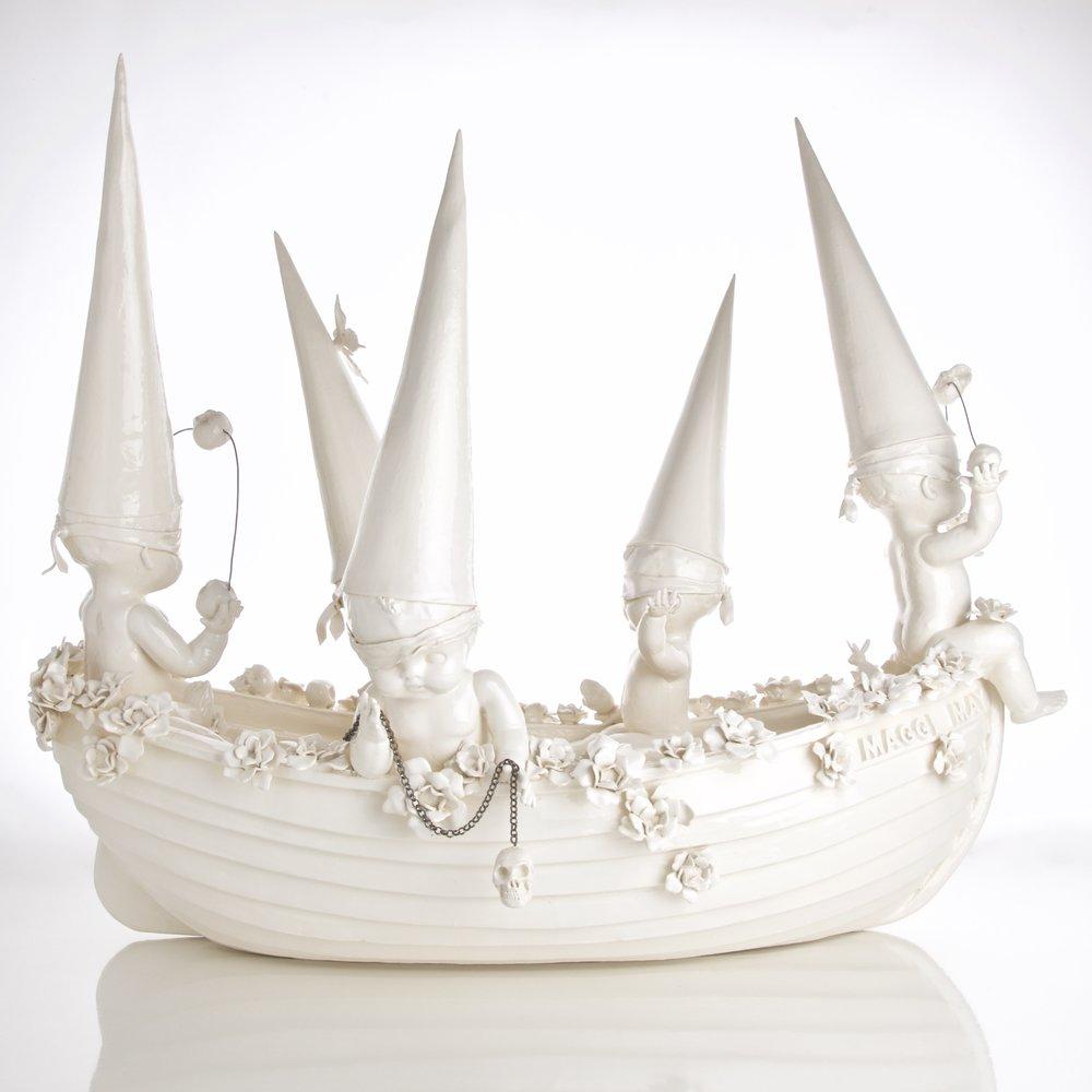 Susannah Montague, ceramic sculpture, porcelain, contemporary art, Vancouver, Elissa Cristall Gallery