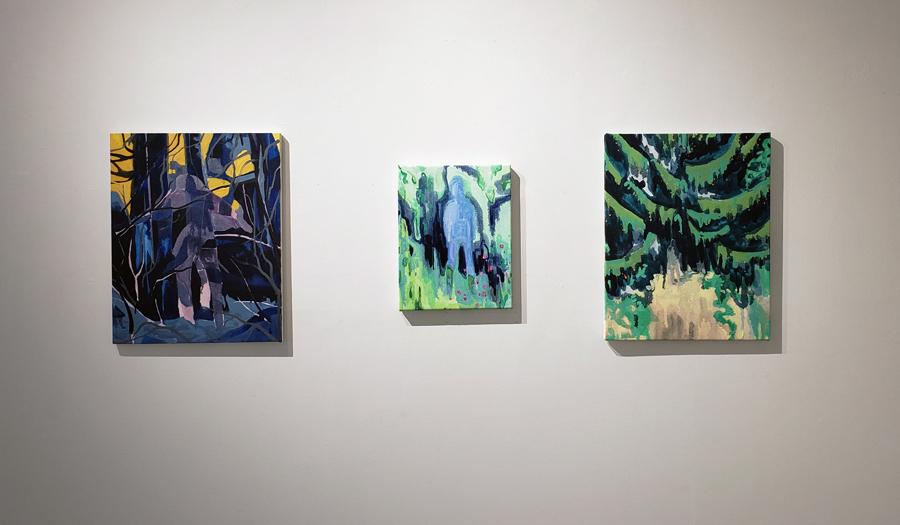 Kyle Scheurmann, landscape, figurative painting, emerging artist, contemporary art, Vancouver, Elissa Cristall Gallery