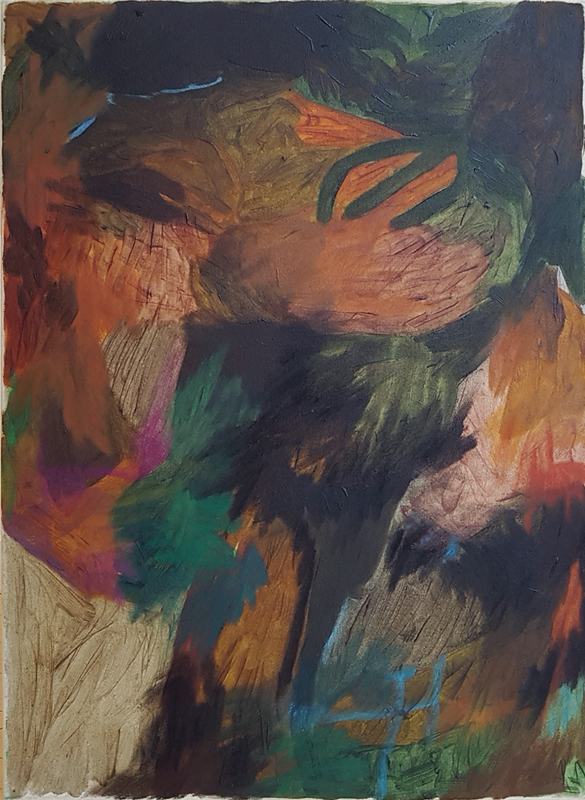 Megan Hepburn, abstract, painting, contemporary art, gallery, Vancouver, Elissa Cristall Gallery