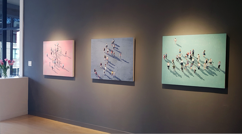 Sara-Caracristi-Friends-for-Keeps-figurative-painting-contemporary-art-Vancouver-Elissa-Cristall-Gallery