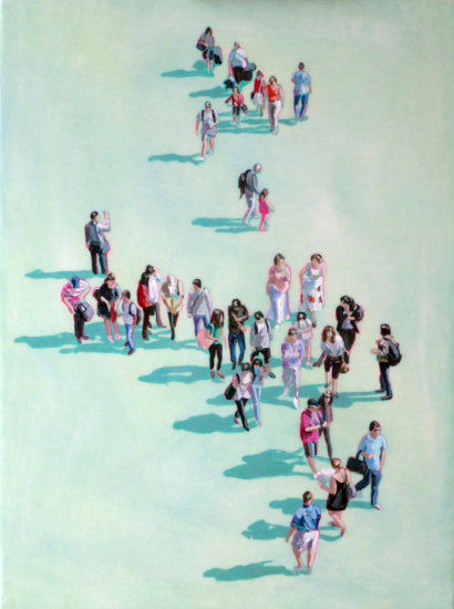 Sara Caracristi, figurative painting, Vancouver, Elissa Cristall Gallery