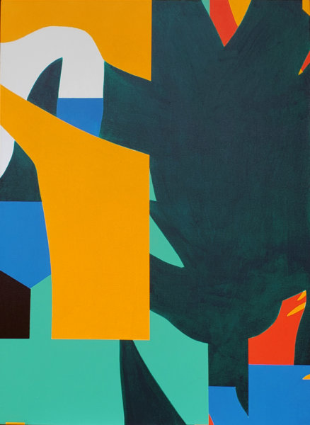Todd Lambeth, Over the hills and far away, abstraction, Elissa Cristall Gallery