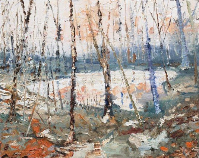 Jeroen Witvliet landscape, Vancouver contemporary art, Elissa Cristall Gallery