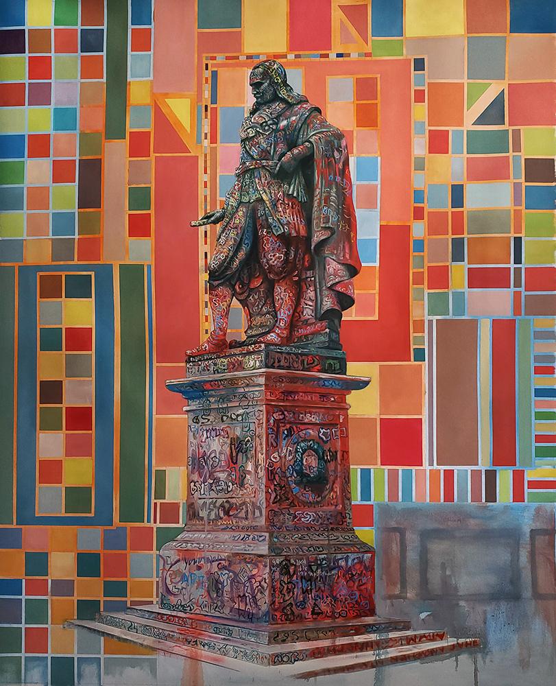 Jeroen-Witvliet-The-Rider-120x150-cm-oil-on-canvas-2021-ecg