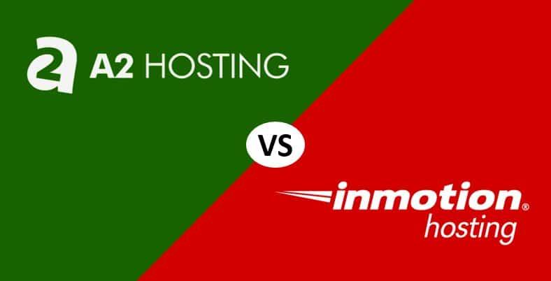 A2 Hosting vs InMotion Hosting Comparación ¿Cuál es mejor?