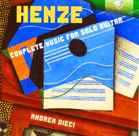 Hans Werner Henze Complete Music for Solo Guitar