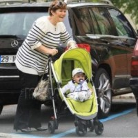Cristiano Ronaldo Junior New Pictures With Dolores (March 2011)