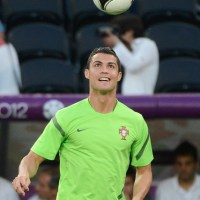 Pictures : Cristiano Ronaldo Last Training Preparation (26 June 2012)Euro 2012