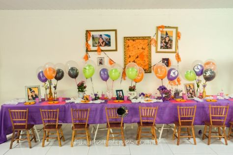Valentina - Aniversário Infantil - 4 anos - Halloween - 021