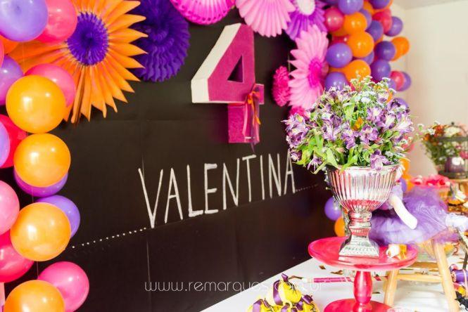 Valentina - Aniversário Infantil - 4 anos - Halloween - 065