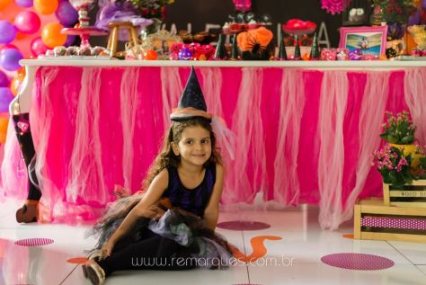 Valentina - Aniversário Infantil - 4 anos - Halloween - 011