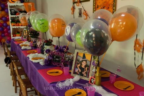Valentina - Aniversário Infantil - 4 anos - Halloween - 017