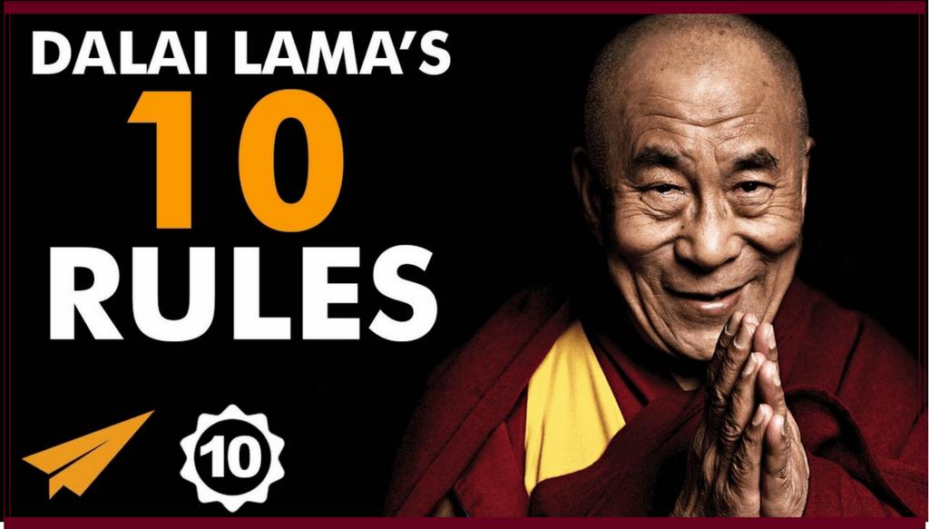 Dalai Lama top 10 fericirea implinire valori