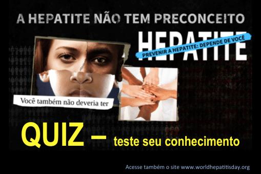 Hepatite - Teste seu conhecimento no QUIZ
