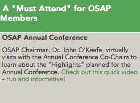 Convite Conferência Anual da OSAP