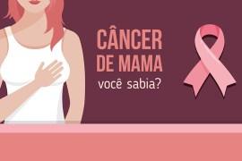 Câncer de mama infográfico