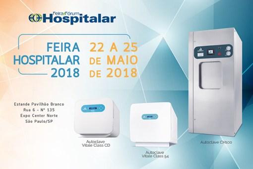 CFHC - Convite Feira Hospitalar 2018