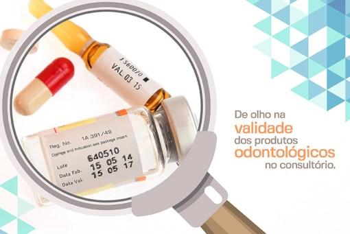 De olho no prazo de validade dos produtos odontológicos