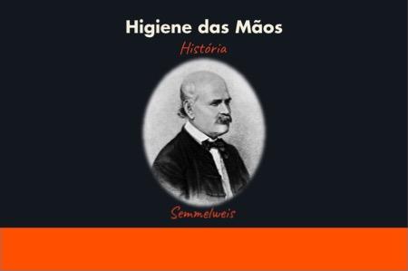 Semmelweis infográfico História higiene das mãos