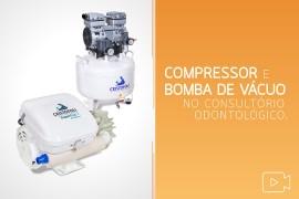 compressor e bomba de vácuo