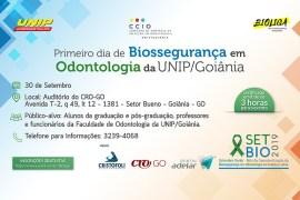 Biossegurança em Odontologia na UNIP Goiania