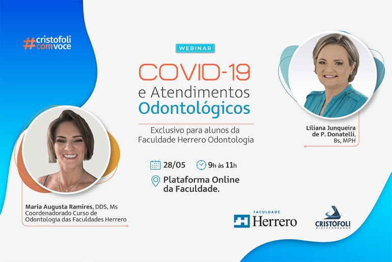 COVID-19 e atendimentos odontológicos Faculdade Herrero
