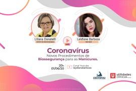 Coronavírus Novos Procedimentos de Biossegurança para Manicures