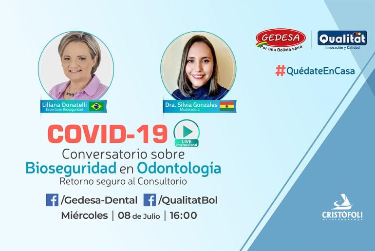 COVID-19 Conversatorio sobre Bioseguridad en Odontologia