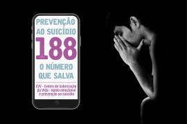 Prevenção ao suicídio:188 o número que salva