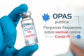Perguntas frequentes sobre vacinas contra Covid-19