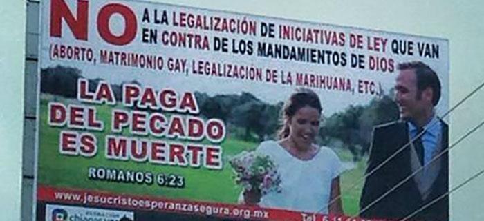 Más de mil evangélicos marchan en contra matrimonio gay