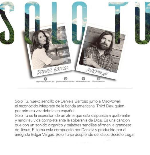 SoloTu- Comunicado