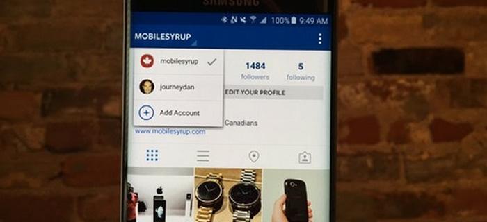 Instagram ya permite la gestión de varias cuentas desde un mismo móvil