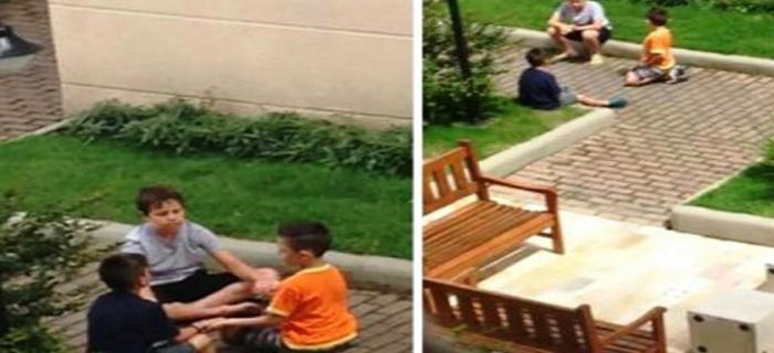 Niño causa admiración en redes sociales por evangelizar a sus amigos
