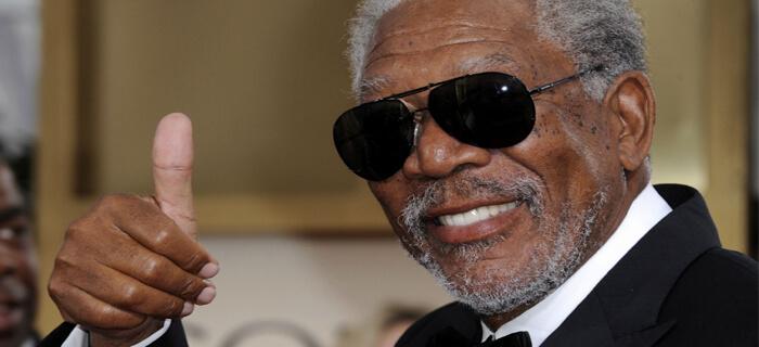 Morgan Freeman busca a Dios después de alejarse de él a los 13 años