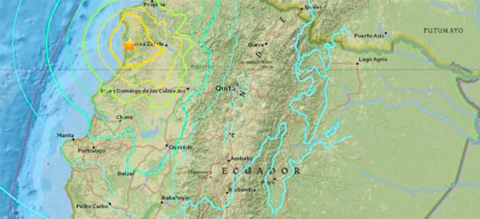 Ministerios llaman a la oración tras terremoto en Ecuador