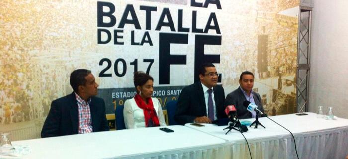 """Ministerio """"La Batalla de la Fe"""" se prepara para la Concentración Evangélica Nacional 2017"""