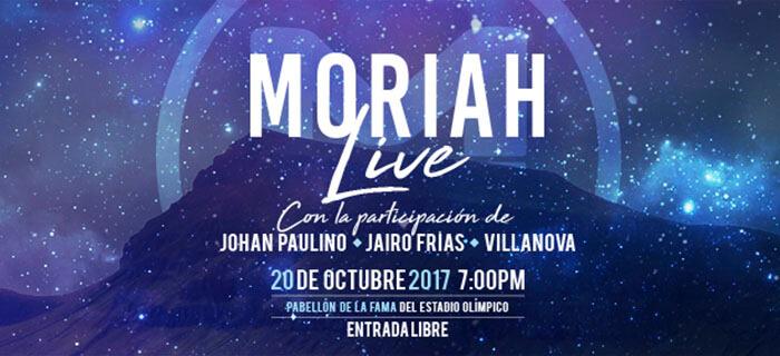El Pabellón de la Fama del Centro Olímpico recibe Moriah Worship en concierto