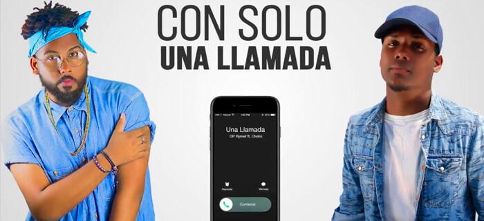 Choko Ft GP Rymer – Una Llamada (Vídeo Lyrics)