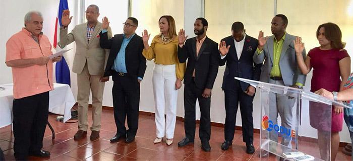 ADOCOC juramenta su nueva directiva nacional 2017-2019