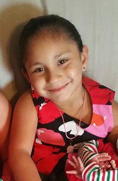 Emily García, de 7 años.