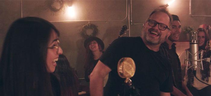 Banda Horizonte celebra que «Es Navidad» al estilo folk junto con Marcos Witt