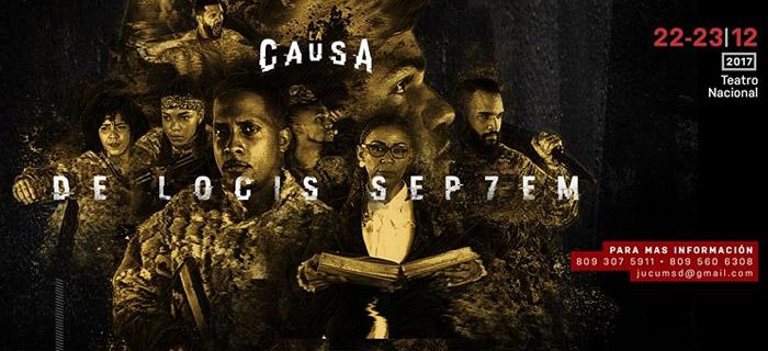 """""""La causa: de locis septem"""" con dos presentaciones en el Teatro Nacional"""