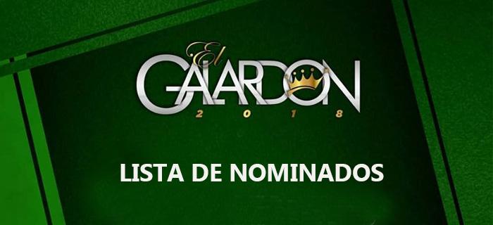 Nominados a Premios El Galardón 2018