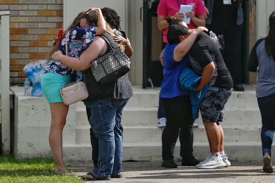 Las víctimas fueron atendidas en múltiples hospitales cercanos a la secundaria.