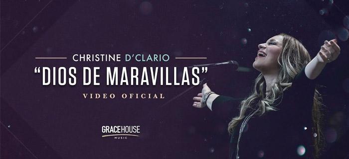 Christine D'Clario presenta su primer sencillo «Dios de Maravillas»