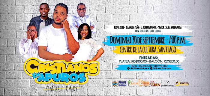 Dinamic US presenta Cristianos en Apuros (Stand Up Comedy)